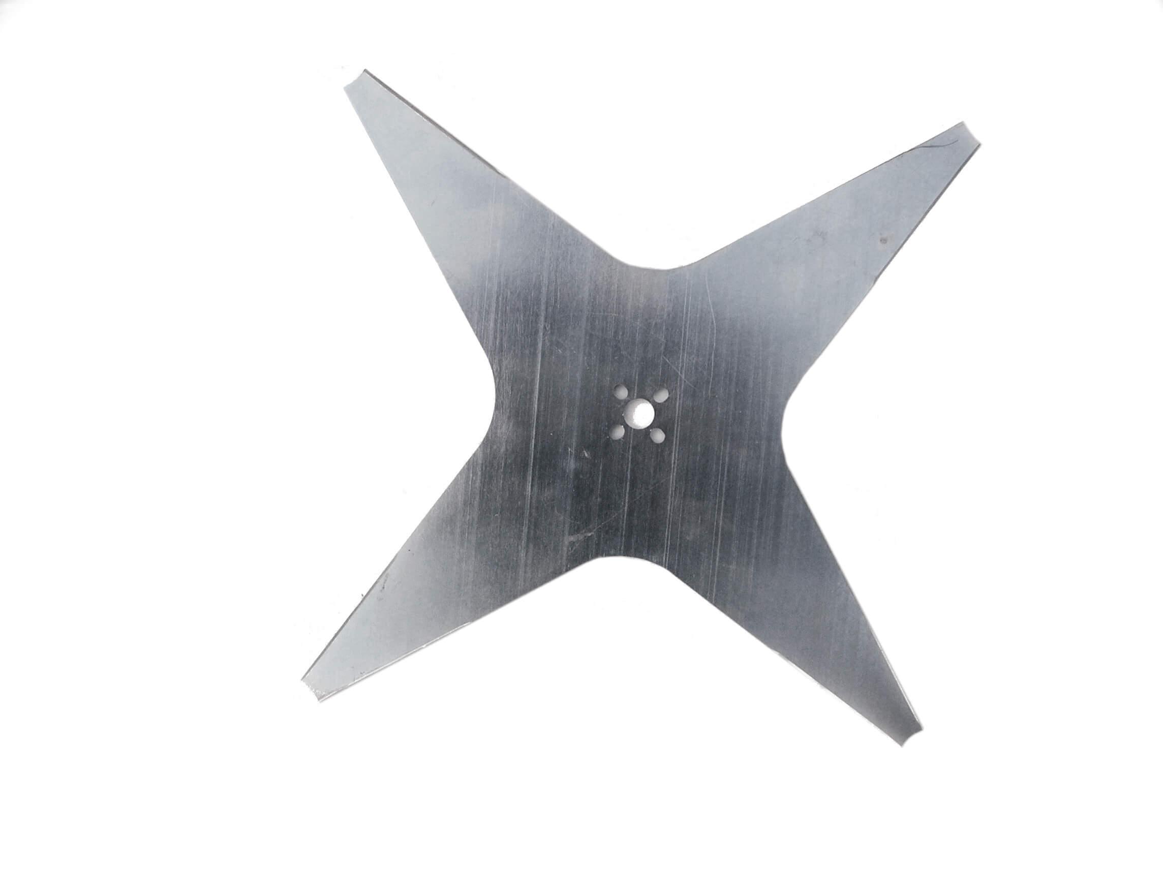 Nóż płaski 4-ramienny 35 cm