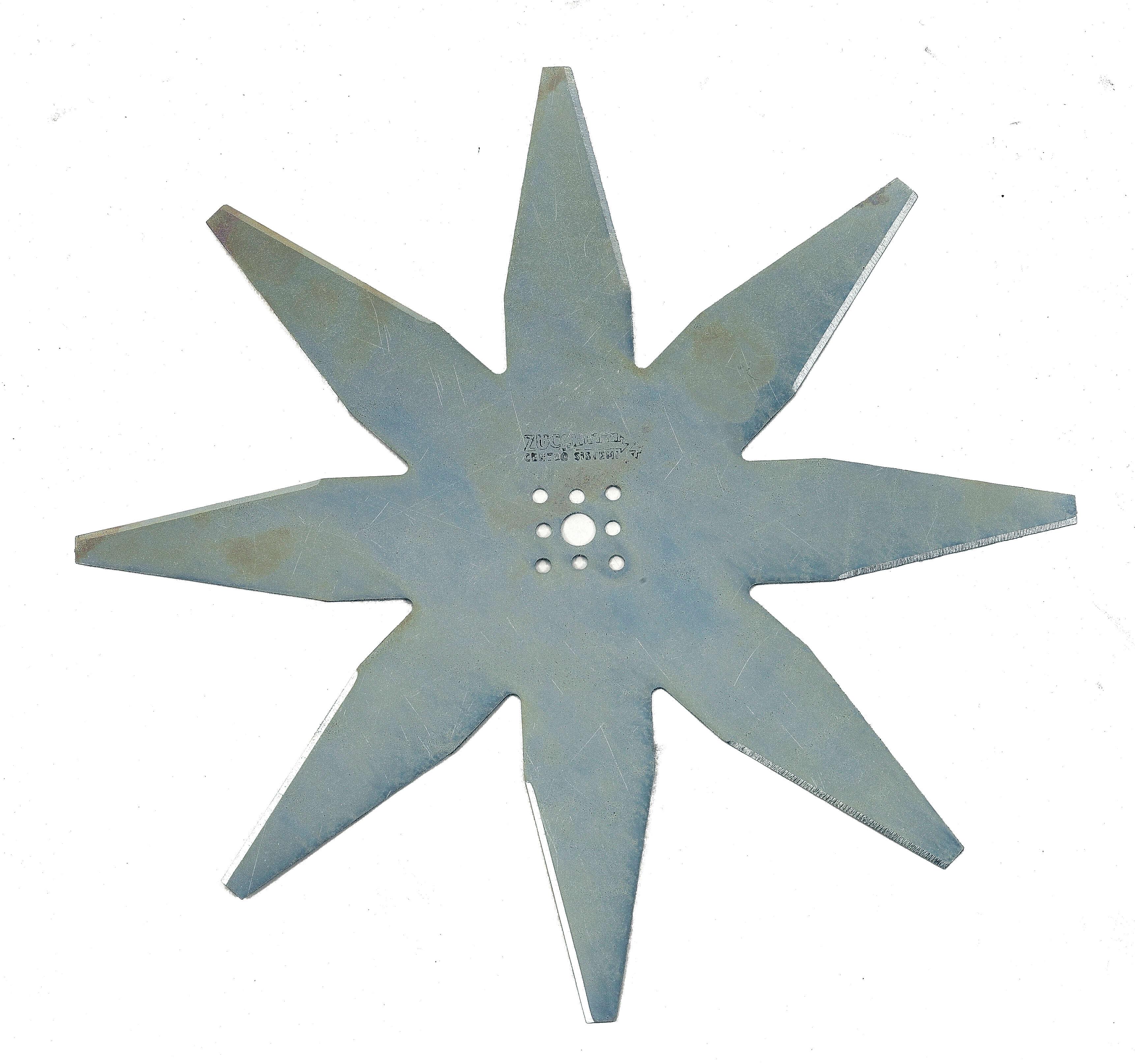 Nóż płaski 8-ramienny 29 cm